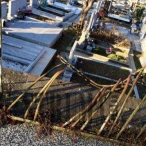 11 надгробни плочи в пернишко село са поругани