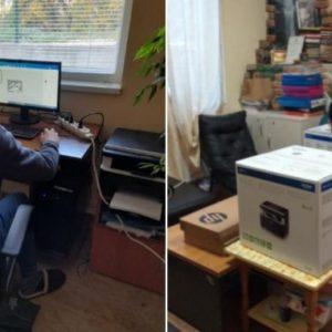 22 деца от кризисни центрове в Перник получиха лаптопи и компютри