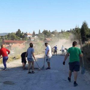 """Гражданска инициатива """"писна ни от дупки"""" в Рударци"""