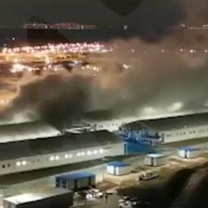 Експлозия гръмна в болница за коронавирус