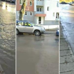 НАВОДНЕНИЕ В ЦЕНТЪРА: Така щеше да е целия Перник, ако не беше започнала подмяната на тръбите в града