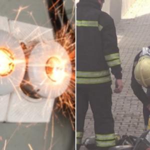 Пожар избухна в гараж на автосервиз в Перник