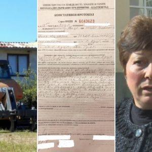 Трънски неволи заради булдозер на дървосекачи: Не че искаме да твърдим, че кметицата лъже, но…