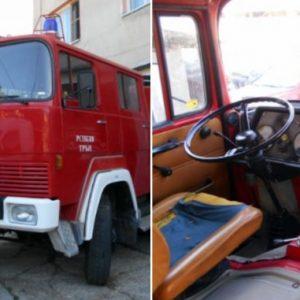 Уникат! Пожарна кола на 50 години още гаси пожари в Трънско – СНИМКИ