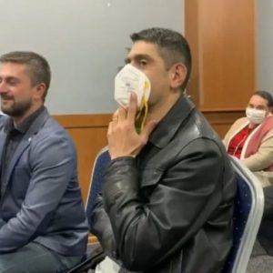 Човек от срещата с Цветанов в Перник: Отидохме, защото ни казаха, че ще има безплатно ядене