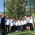 Два чисто нови терена с изкуствена настилка за минифутбол откри кметът на Перник Вяра Церовска