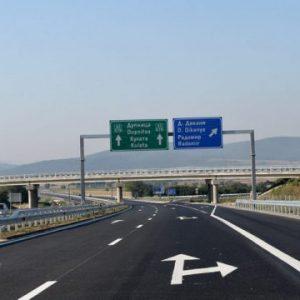 """Камион горя на магистрала """"Струма"""""""