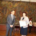 Кметът на община Перник Вяра Церовска е удостоена с високо отличие за развитие на туризма в България