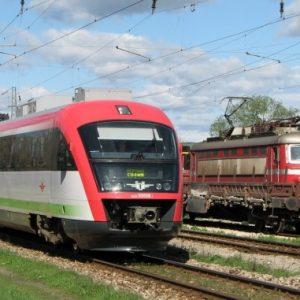 Княжево на протест срещу пускането на влака София-Перник-Радомир