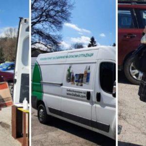 Над 30 перничани вече предадоха опасни отпадъци в мобилния пункт, който е днес в Перник