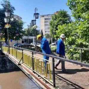 Нарязаха моста над река Струма в Перник