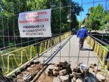 """От днес започна ремонт на моста при бившето кино """"Кракра"""""""