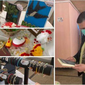 Отвори базар за сувенири, направени от хора с увреждания в Перник