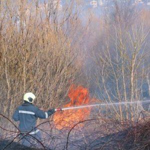 Пожарната отчете по-малко пожари тази година в Пернишко