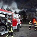 Трактор и камион горяха в брезнишкото село Станьовци