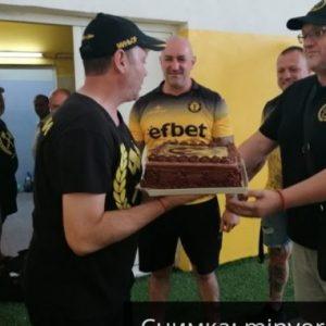 Фенове зарадваха спортния директор на Миньор Тони Евтимов за рождения му ден